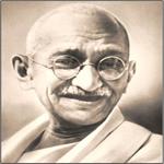 Shri Mataji vivió en el ashram del Mahatma Gandhi