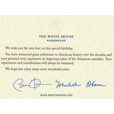 Felicitación de Barak Obama a Shri Mataji Nirmala Devi