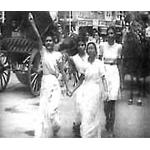 Shri Mataji participo activamente en el movimiento de independencia de la India