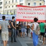 Manifestación Sahaja Yoga en Madrid