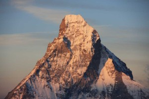 Shri Ganesha en el Monte Cervino