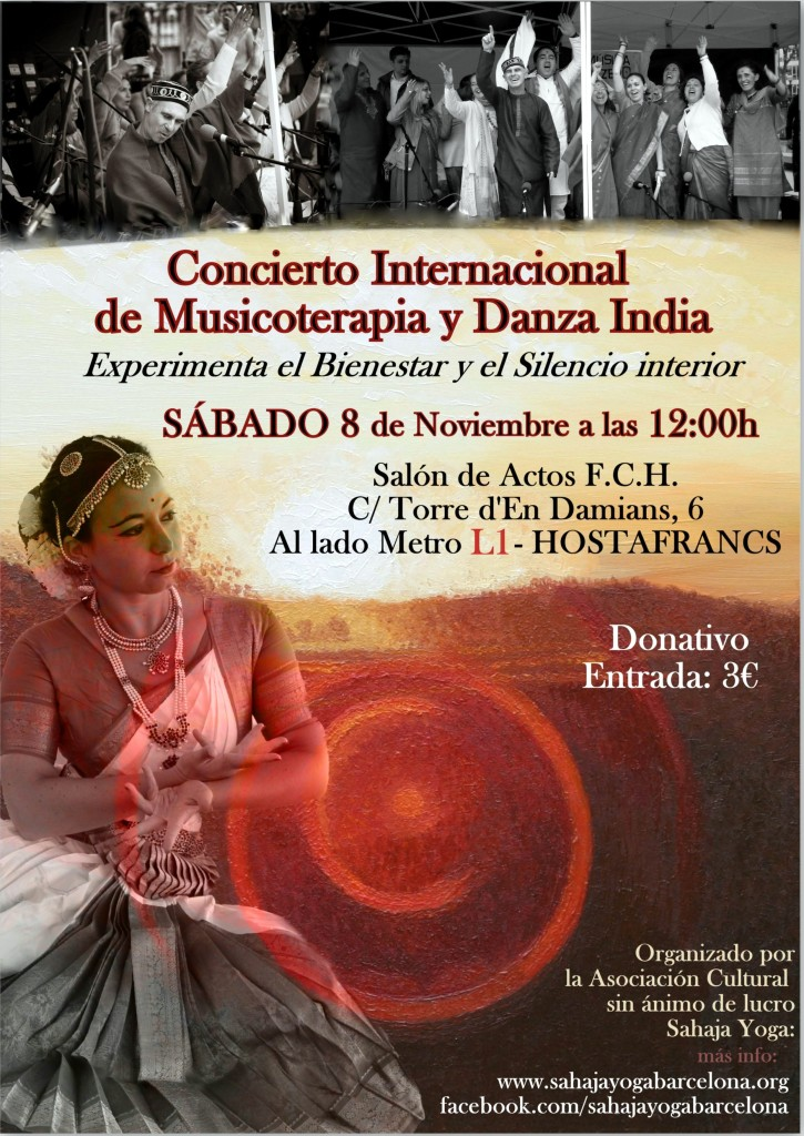 concierto de Musicoterapia y Danza de la India