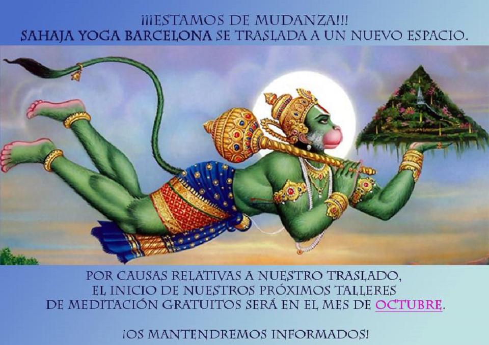 Sahaja Yoga Barcelona – Meditació
