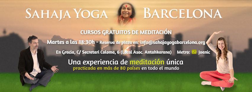 Taller de meditacion gratuito en Gracia